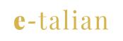 e-talian logo